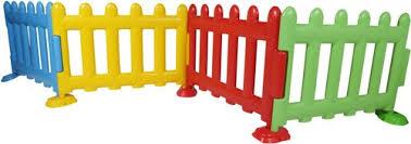 Plastic Kids Playground Fence Rs 4480 Set Rudram International Id 21602375673