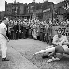 Wrestling Primo Carnera Ludgate Gardens, London #12178238