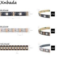 WS2813(WS2812B Cập Nhật) riêng Lẻ Addressable Đèn Led Pixel Dây Kép Tín  Hiệu 30/60/144 Đèn Led/M IP30/IP65/IP67 DC5V|