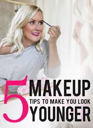 5 makeup tips to make you look younger