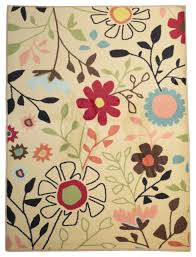 Fun Flower Pedal Girl Room Area Rug Contemporary Kids Rugs By Rug Shop And More