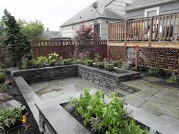 landscaping ideas small yard patio