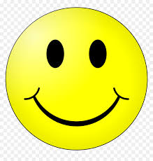 smiley face emoji with black background