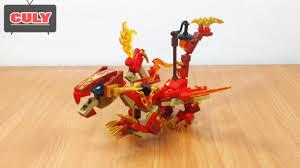Lego NinjaGo rồng lửa điện đỏ của Kai brick toy for kids đồ chơi ...