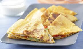 Imitation Crab 3-Cheese Quesadillas