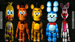 five nights at freddy s plushies 2 all