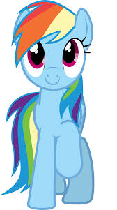 Rainbow Dash Vector Smile Parade With The Mane 6 From A Friend