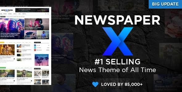 newspaper x theme premium wordpress themes free