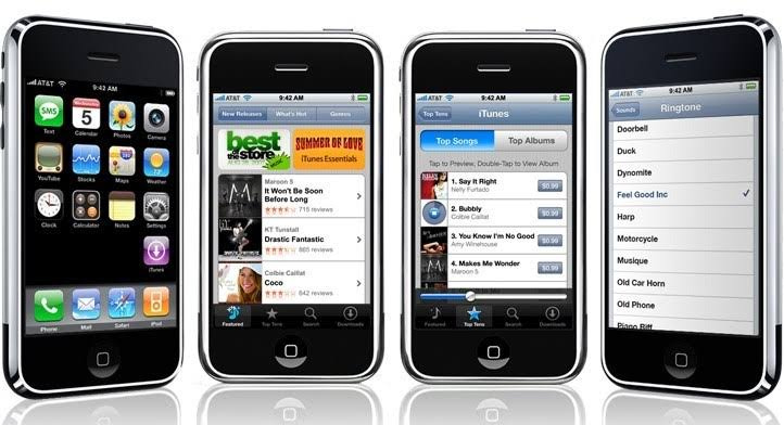 iPhone OS 1 ile ilgili görsel sonucu