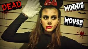makeup for minnie mouse costume