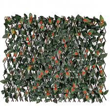 Fashion Garden Fence Expandable Faux Ivy Buy Online In Canada At Desertcart