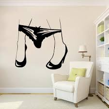 Sexy Womens Panties Creative Wall Stickers Wall Decal For Bedroom Living Room Home Decoration Detachable Wall Decor Wall Decals Design Wall Decals Designs From Joystickers 12 21 Dhgate Com