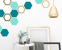 Honeycomb Wall Decals Hexagon Decals Geometric Wall Art Wall Decor Honeycomb Modern Wall Art Gift For Home Nursery Decals Kids Room