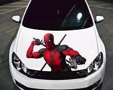 Deadpool Car Hood Decal Ebay