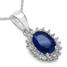 1 04cts blue sapphire and white topaz s