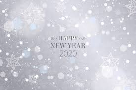 silver new year 2020 wallpaper free