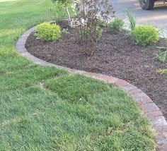 to entry concrete paver landscape