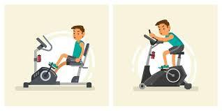 rebent vs upright bike which gives