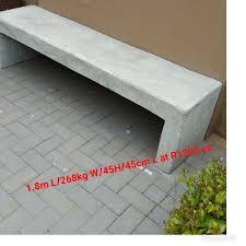 garden concrete benches and tables