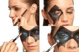 bat man mask makeup for