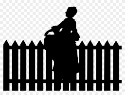 Wooden Fence Svg Fence Clipart Fence Svg Fence Silhouette Fence Female Silhouette Free Transparent Png Clipart Images Download