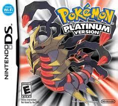 Pokemon Platinum Series NDSL GB GBC GBM GBA SP Video Game ...