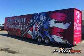 Platinum Wraps Semi Truck Big Rig Wraps Southern California