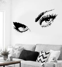 Sexy Hot Eyes Girl Wall Stickers Teen Woman Decal For Living Room Decor Removable Self Adhesive Wall Decal Hot Mural Cheap Wall Clings Cheap Wall Decal From Onlinegame 10 67 Dhgate Com