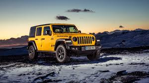 jeep wrangler unlimited rubicon 2019 4k