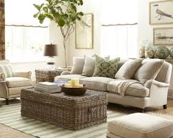 s woven rattan coffee table grey