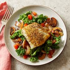 Herby Mediterranean Fish with Wilted ...