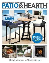 patio and hearth product report