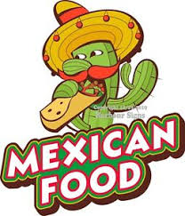 Mexican Food Decal Choose Your Size Food Truck Sign Concession Sticker Ebay