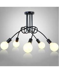 modern led ceiling lights fixture e27 5