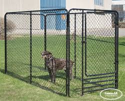 Dog Kennels Chain Link Products Fence All Ottawa On