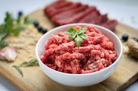 ground beef bj s raw pet food