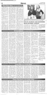 The Blair Press Taylor February 12, 2015: Page 6
