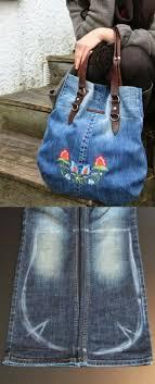 Épinglé par Alessandra Mathis sur Creative Denim Fabrics | Sac en jean,  Sacs en tissu, Sac