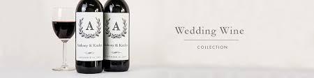 wedding wine labels favors