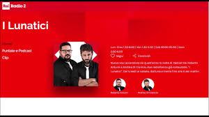I Lunatici (Radio Rai 2): Sergio Nazzaro - YouTube