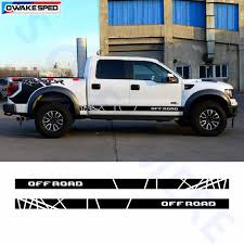 Auto Body Door Side Customized Stickers Off Road Sport Vinyl Decal Car Styling Pickup Truck Decor Stripes For Ford Ranger F 150 Car Stickers Aliexpress