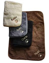 large washable fleece dog bed