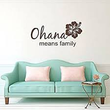 Buy Lilo And Stitch Ohana Family Vinyl Wall Decal Vinyl Lettering Sticker Home Decor In Cheap Price On Alibaba Com