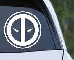 Deadpool Inspired Die Cut Vinyl Decal Sticker Decals City