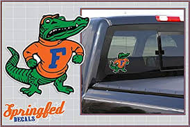 Amazon Com Florida Gators Albert Mascot 4 Vinyl Decal Car Truck Window Sticker Uf Everything Else