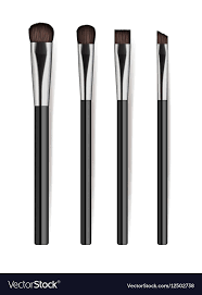 realistic professional cosmetics brush