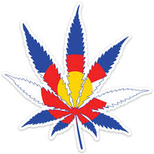 Colorado Marijuana Sticker Pot Sticker Marijuana Decal Cannabis Sticker Fearless State