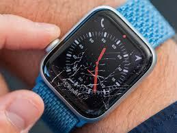 broken or scratched apple watch
