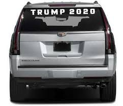 Trump 2020 Windshield Decal 20 30 40 42 Truck Window Car 16 Colors Dso Ebay