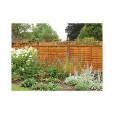 Forest Garden Convex Trellis Fence Topper Garden From Laver Uk